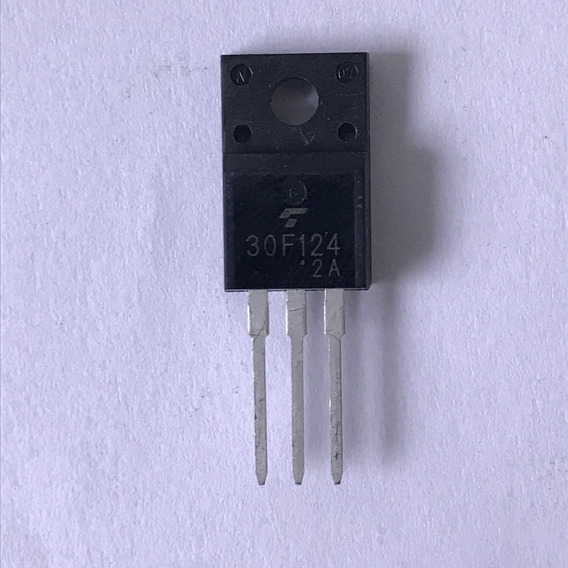 Transistor 30f124 Original Kit Com 5 Peças Frete Já Incluso!