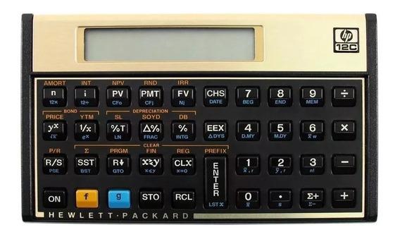 Calculadora Hp 12c Gold Pronta Entrega Envio Imediato