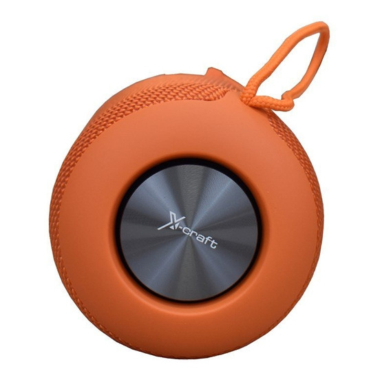 Caixa De Som Bluetooth X-craft X9 Laranja 10w À Prova De Àgu