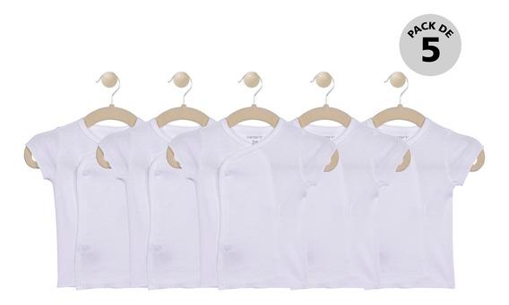 Set De 5 Camisetas Manga Corta Carters Unisex 126g7770