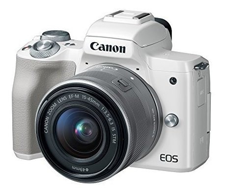 Canon Eos M50 Mirrorless Camera Kit W/ Ef-m15-45mm Lens And