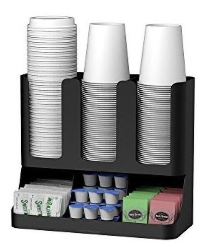 Imagen 1 de 3 de Organizador De Cocina Para Café, Té Mind Reader Negro