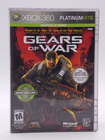 Gears Of War 1 Xbox 360 E Xbox One Original Mídia Física