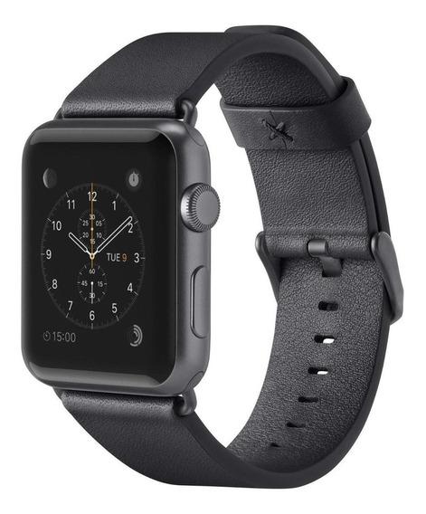 Pulseira Apple Watch Couro Legítimo 38mm/40mm