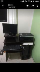 Computador: Monitor, Estabilizador, Cpu, Impressora.