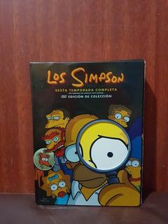 Dvd Los Simpson Sexta Temporada Completa Original 4 Dvd