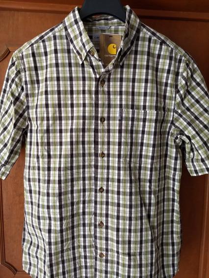 Carhartt Camisa Talla M Adulto Algodón