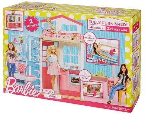 Barbie Nova Casa De Férias 2017 Com Boneca - Mattel Dvv48