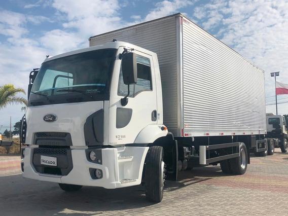 Ford Cargo 1719 Toco 2013 Bau 7 = Mb Atego 1418 1419 1719