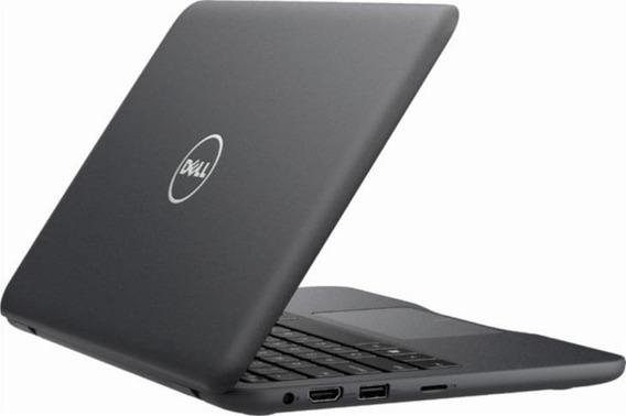 Netbook Dell Inspiron Tela 11.6 4gb 32gb W10+cartão Sd 32gb