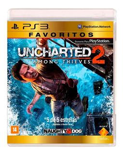 Uncharted 2 Ps3 Juego Nuevo Cd Original Fisico Sellado Stock