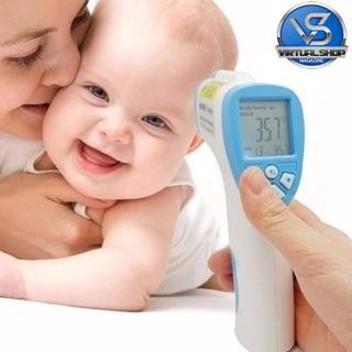 Termometro Digital Infravermelho Temperara Do Corpo Febre