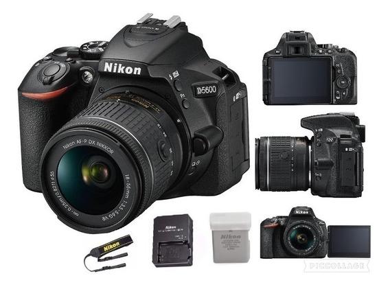 Câmera Nikon D5600 Com Lente 18-55mm C/nf