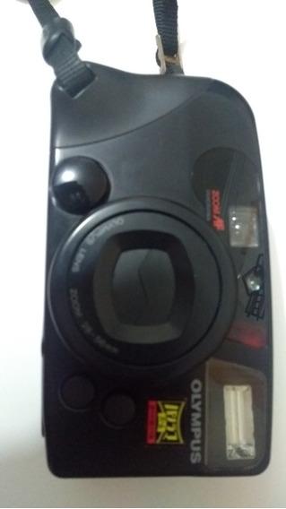 Câmera Fotográfica Antiga Colecionador Olympus Izm220 Zoom