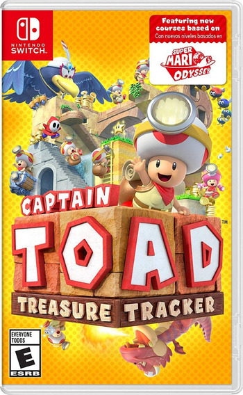 Captain Toad Treasure Tracker - Switch - Mídia Física