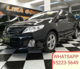 Toyota Corolla 1.8 16v Gli Flex Aut. 5p 2014 Bancos De Couro
