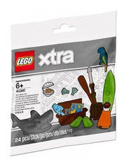Lego Xtra - Sea Accessories (coisas Do Mar) - 40341