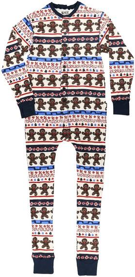 Pijama Mameluco Importado Algodón Hombre Navidad Mercado Libre