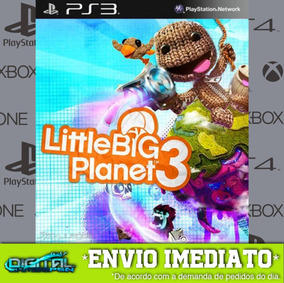Little Big Planet 3 Ps3 Psn Jogo Envio Rapido!