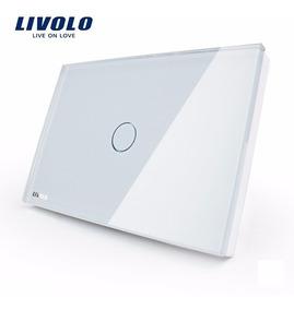 Interruptor Livolo Led Touch 1 Via Botão - Envio Imediato!!