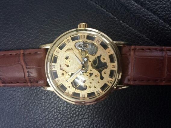 Relógio Masculino Mecânico Automático Novo
