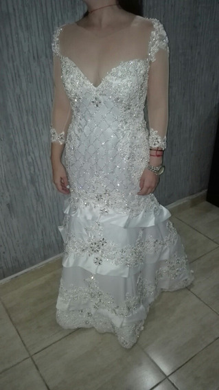 Vestido De Novia De Diseñador Famoso