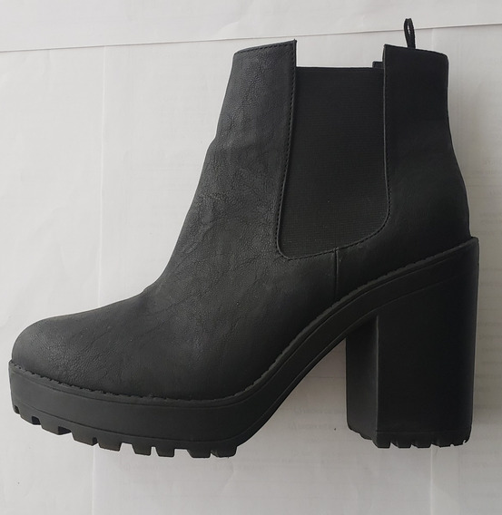 Botas Mujer Color Negro Divided - Hym