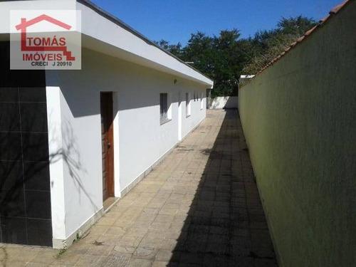 Casa Totalmente Térrea, Ideal Para Casa De Repouso - Ca0593