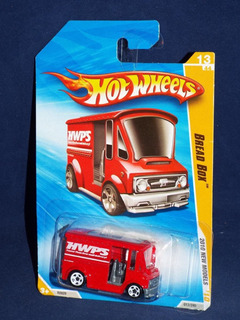 Auto Hot Wheels Bread Box 2010 Camion Hw Premiere Rdf1