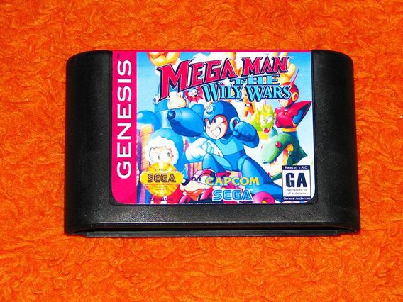 Mega Man The Wily Wars - Versão Americana. Imperdível