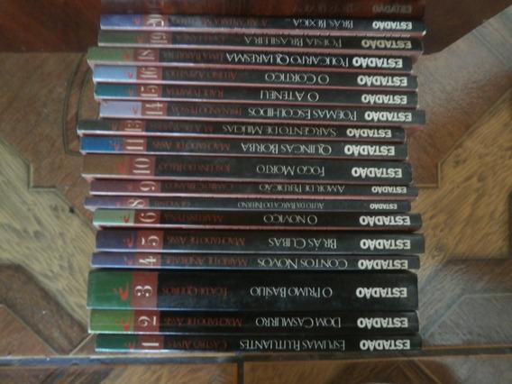 Lote Com 17 Livros Coleção Ler É Aprender Estadão 1997 Klick