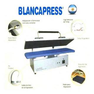 Equipo Tipo Prensa Plancha Ropa Blancapress Doble Industrial