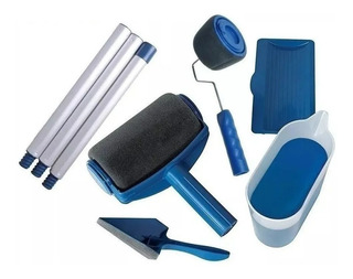 Rodillo Recargable Fibra Kit Completo Bordes Paint Roller