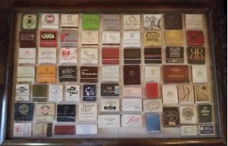 Coleção De 66 Caixas De Fósforo De Lugares Variados No Quadr