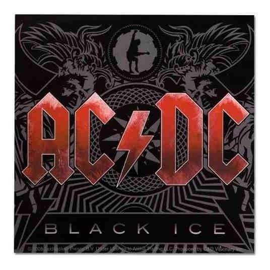 Cd Ac/dc Black Ice - Novo Original Lacrado!