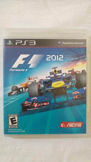 Fórmula 1 2012 Ps3 Original Semi Novo Pronta Entrega.