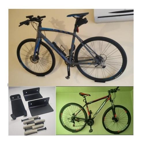 2 Sets X  Soporte De Pared Para Colgar Tus Dos Bicicletas