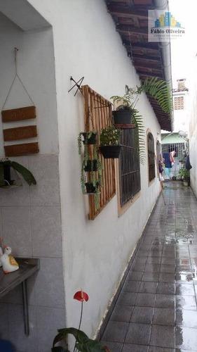 Casa Com 4 Dormitórios À Venda, 176 M² Por R$ 350.000 - Caiçara - Praia Grande/sp - Ca0248