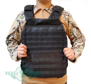 Chaleco Corte Láser Militar Equipo Táctico Porta Placa Balistica Comando Policia Molle Gotcha Escolta Seguridad Guardia