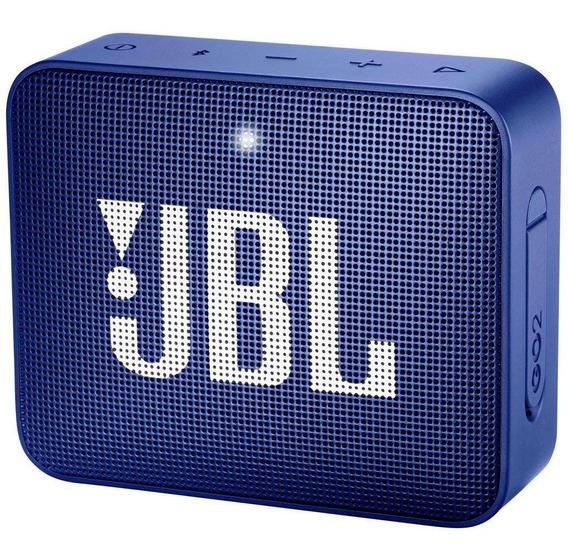 Caixa Bluetooth Jbl Go2 Azul Com Potência De 3 W Jbl
