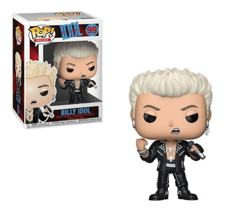 Funko Pop Rocks Billy Idol 99 Original!!