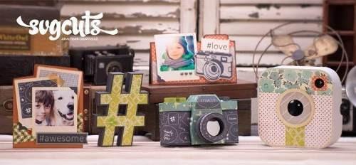 Kit Arquivo Camera # Instagram Foto Silhouette Stuvio Free