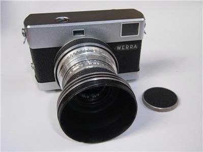 Fotográfica Alemã 35mm Carl Zeiss Werra 3 Funcionando 1950