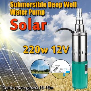 220w 12v 1.2m3 45m Vehículo Eléctrico Bomba Solar Sumergible