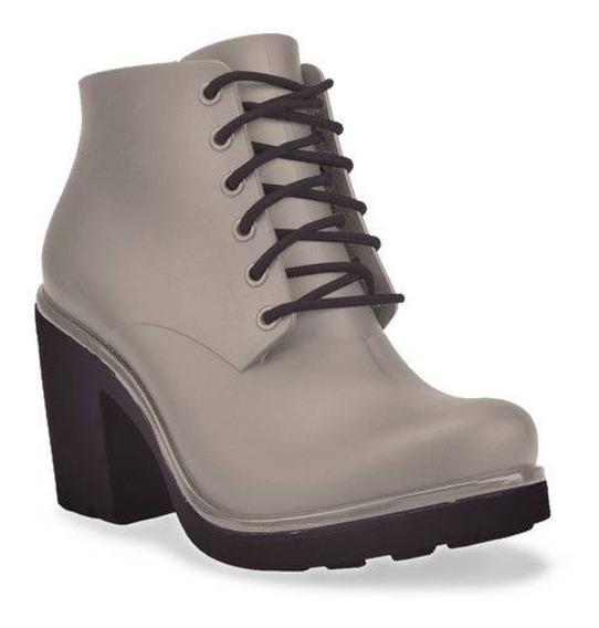 Bota Ankle Boot Feminina Boa Onda Ale Capuccino 1608-105