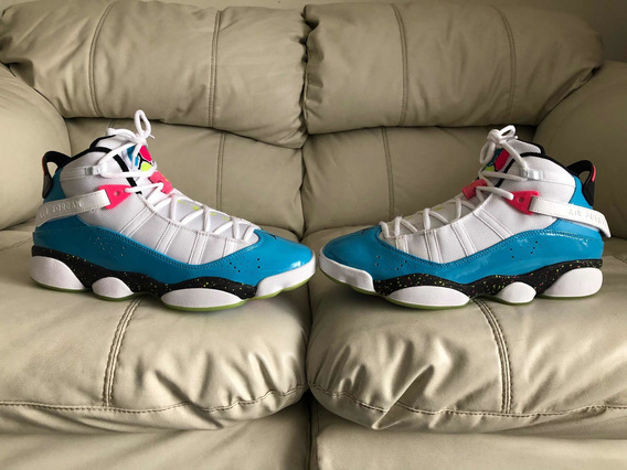 Tenis Air Jordan Six Rings Fury Cyber Del 28mx