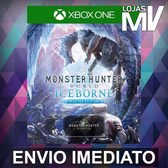 Monster Hunter World Iceborne Ed Master 25 Digitos Xbox One