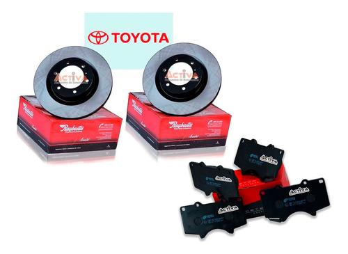Kit Discos Y Pastillas Toyota Hilux 2.8 Delantero
