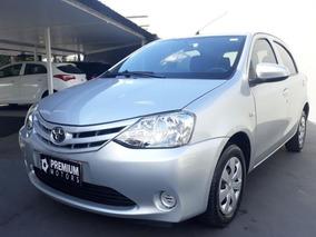 Toyota Etios X 2014 Prata Flex