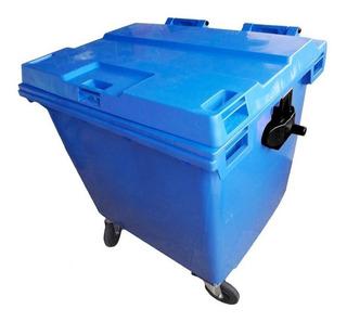 Lixeira 1000 Litros Condomínio Predial Contêiner Plastico